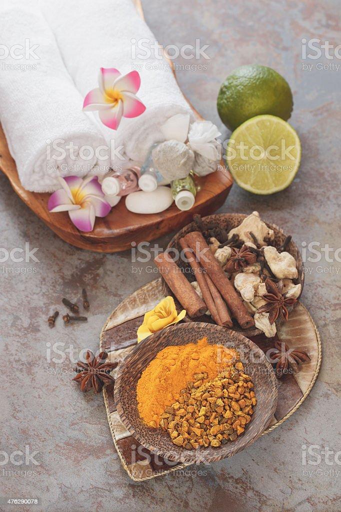 Spa treatments stock photo