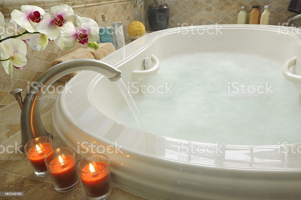 Spa Tub royalty-free stock photo
