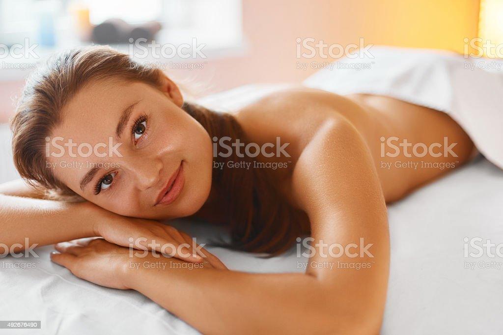 Spa Woman. Beauty Portrait stock photo