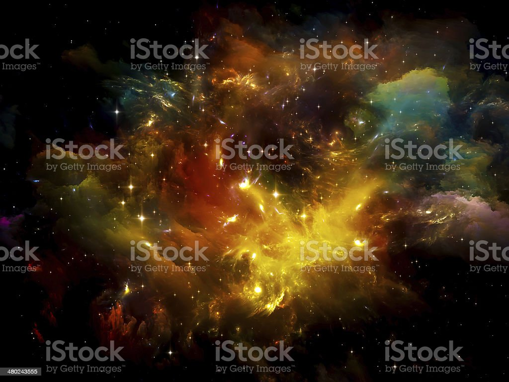 Space Abstraction stock photo