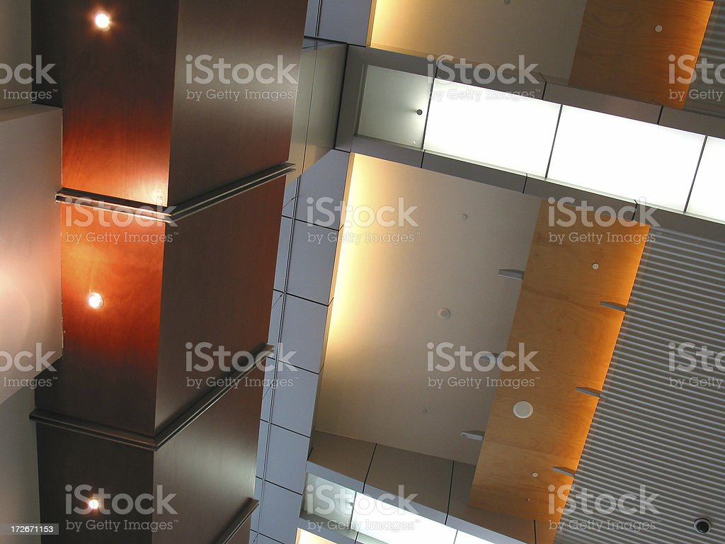 Space Age Materials - Interiors royalty-free stock photo