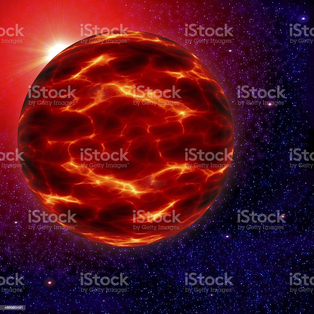 space alien planet royalty-free stock photo