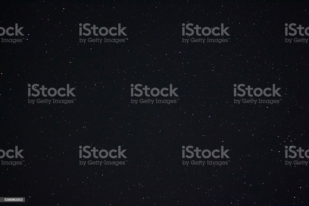 Space background with stars stock photo