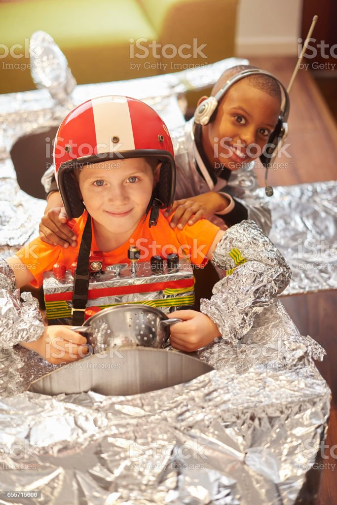 space buddies stock photo