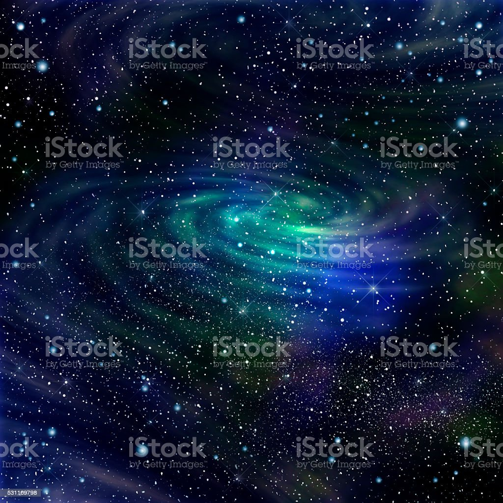 Space galaxy image stock photo