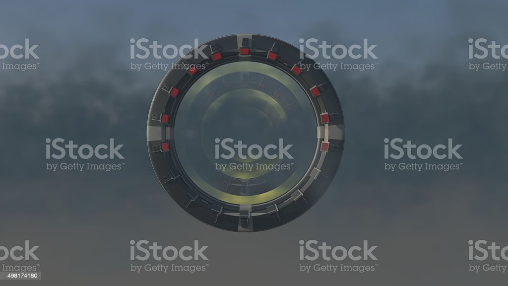 Space Gate stock photo