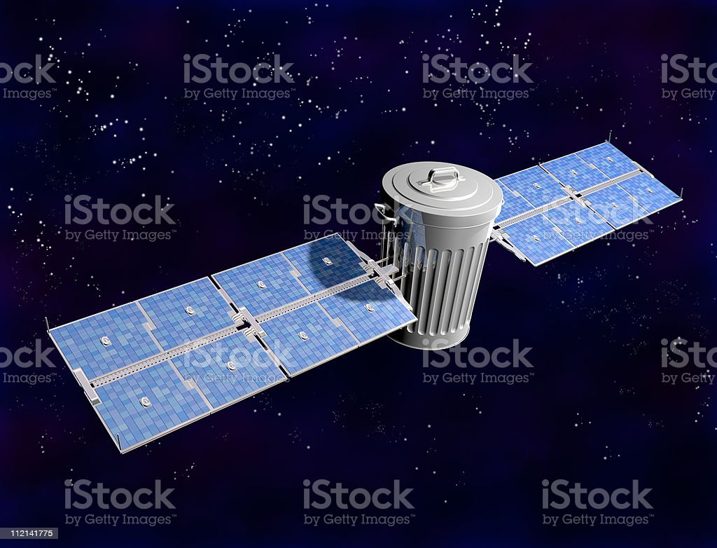 Space Junk royalty-free stock photo