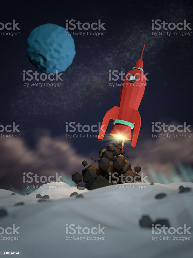 Space Mission stock photo