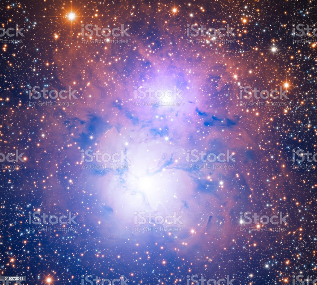 Space Nebula in Sagittarius Constellation stock photo