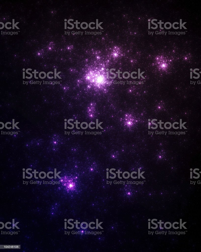 Space nebula royalty-free stock photo
