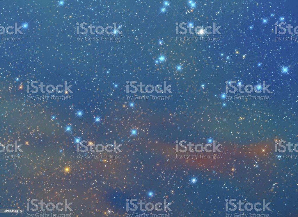 Space Nebulosity royalty-free stock photo