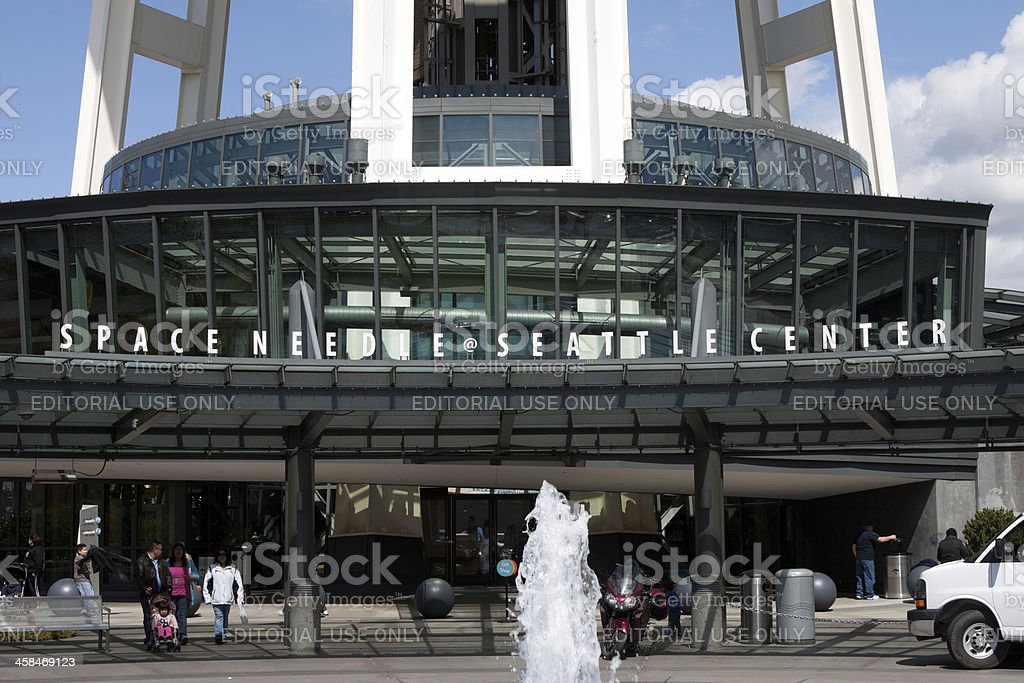 Space Needle 50th Anniversary royalty-free stock photo