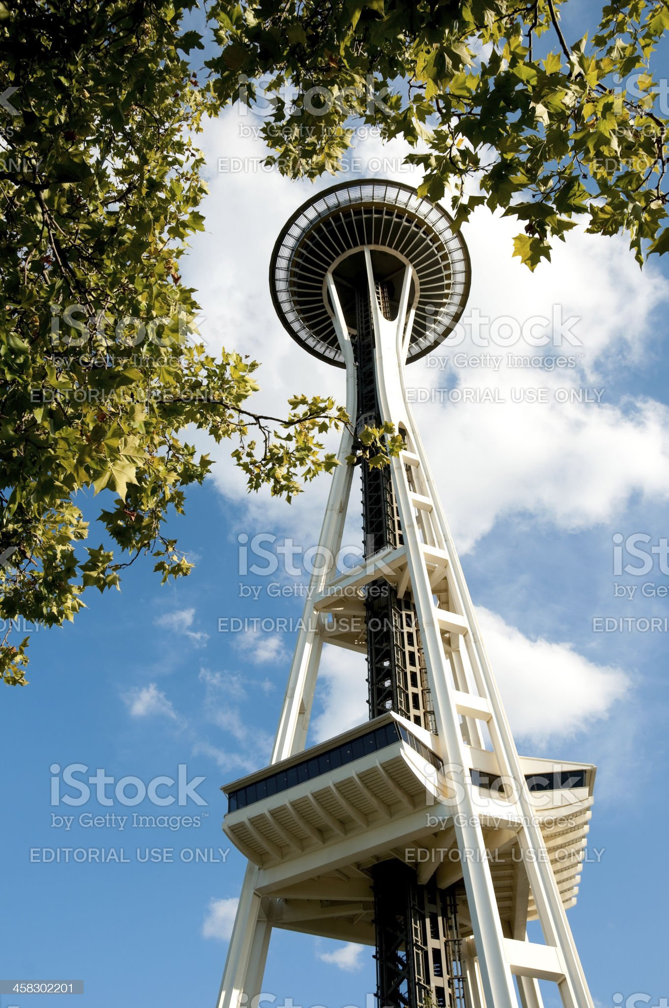Space Needle royalty-free stock photo