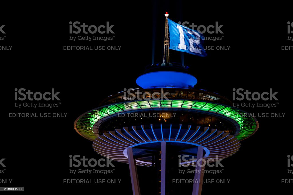 Space Needle stock photo