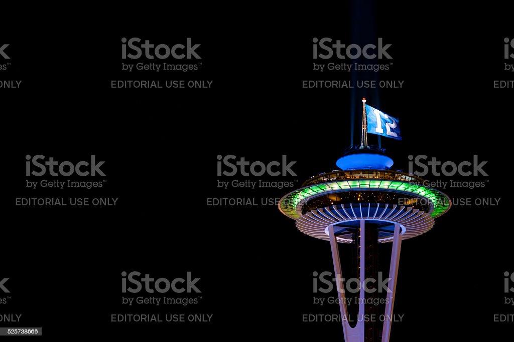 Space Needle stock photo