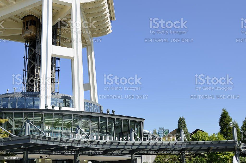 Space Needle, Seattle royalty-free stock photo