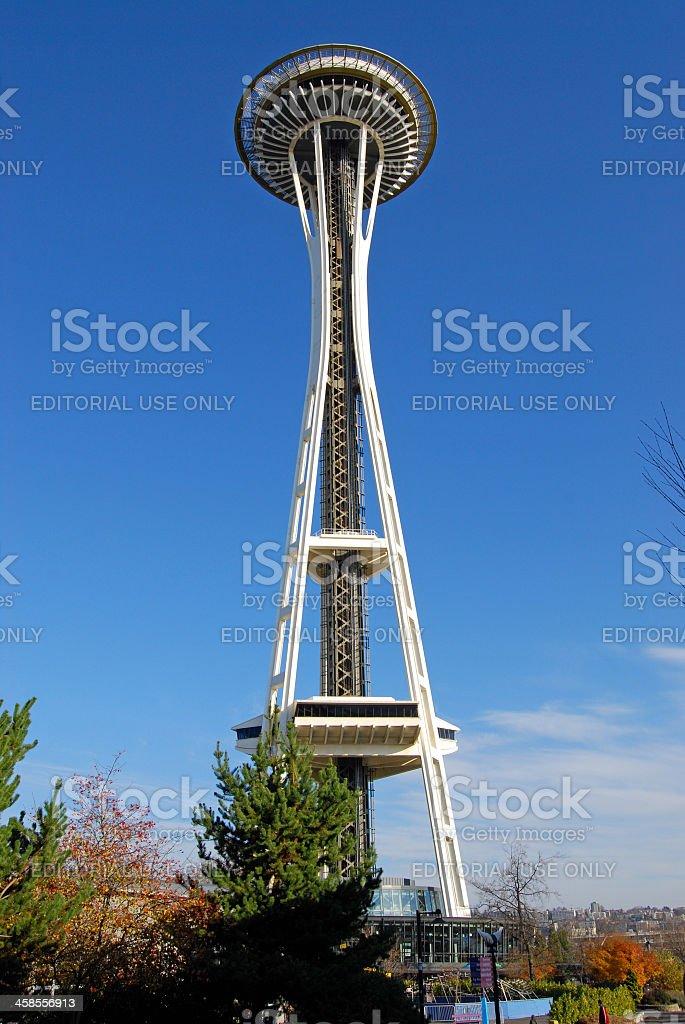 Space Needle, Seattle, Washington royalty-free stock photo