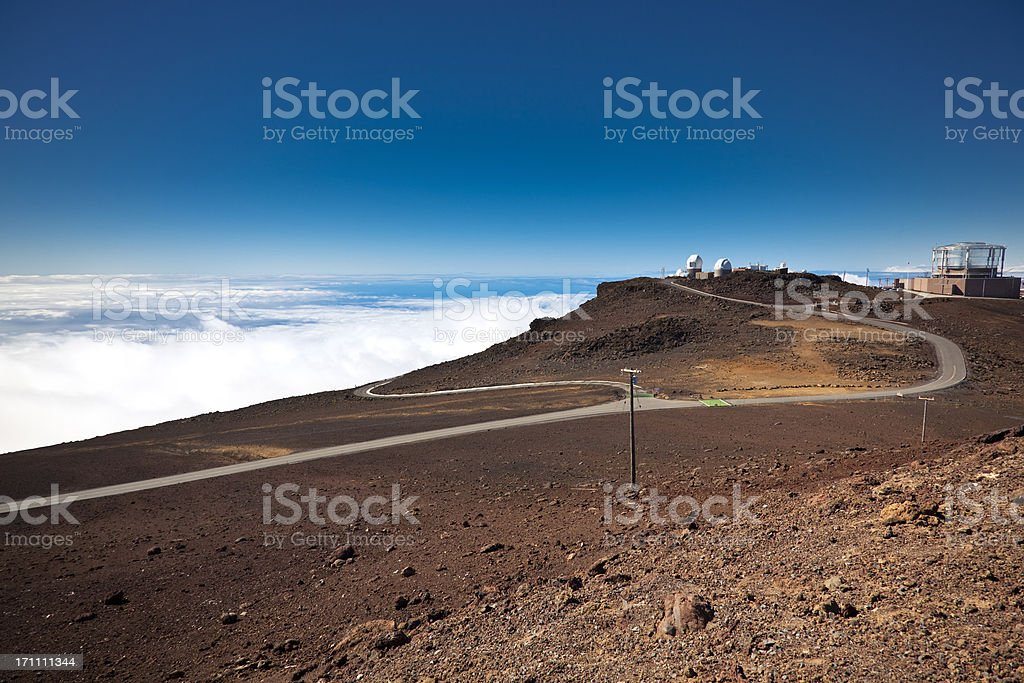 space observatory royalty-free stock photo
