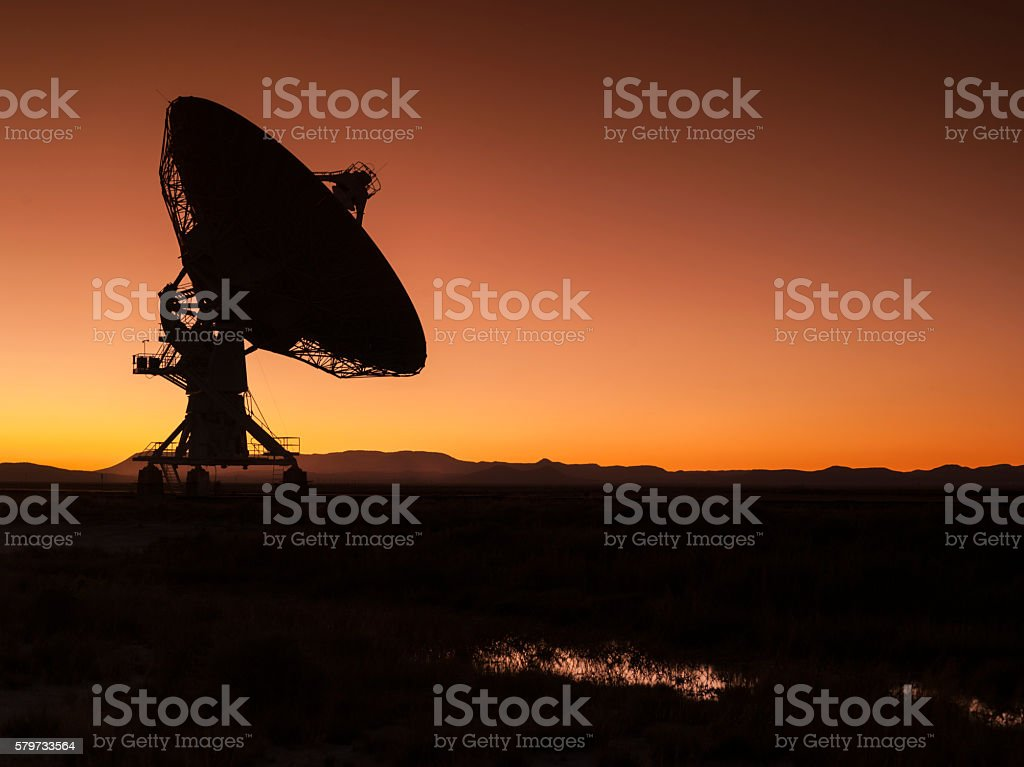 Space observatory stock photo