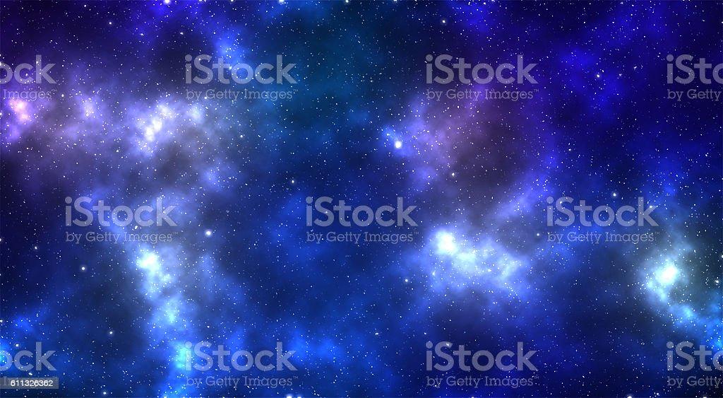 Space of night sky stock photo