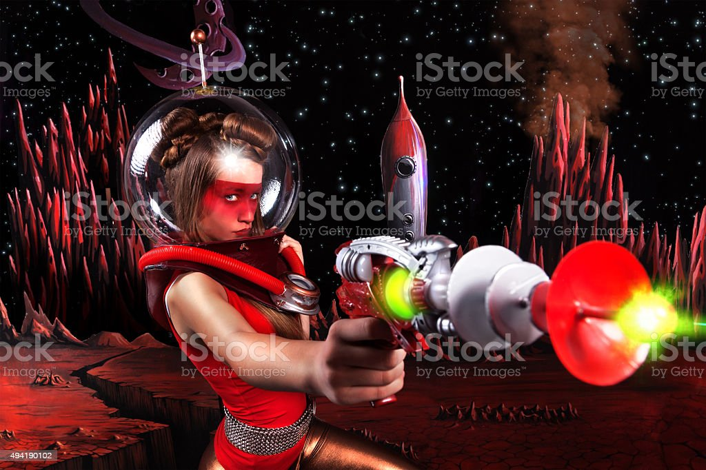 Space Pin 3 stock photo