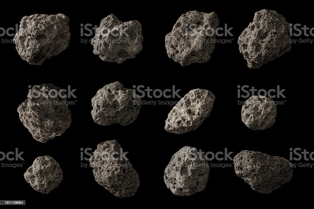 Space Rocks! stock photo