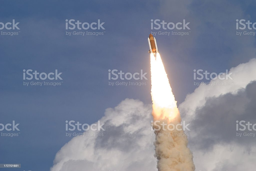 Space Shuttle Atlantis stock photo