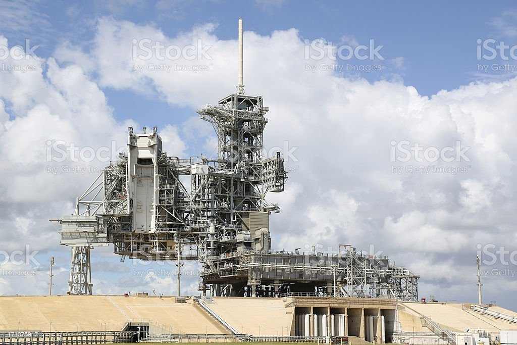 Space Shuttle Launch Pad stock photo