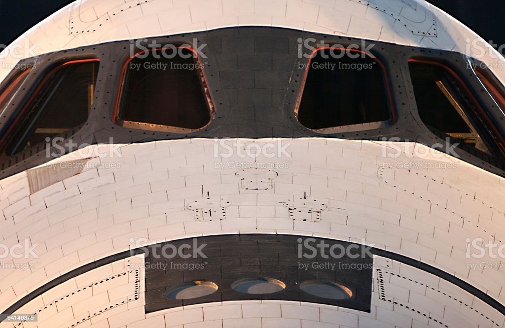 Space Shuttle royalty-free stock photo