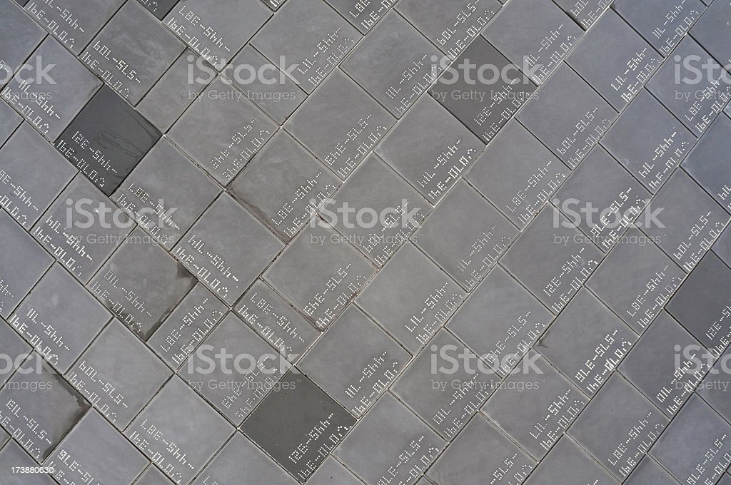 Space shuttle tile background stock photo