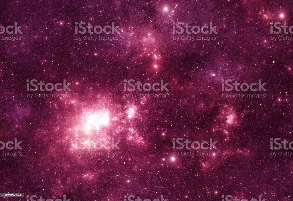 Space stars stock photo