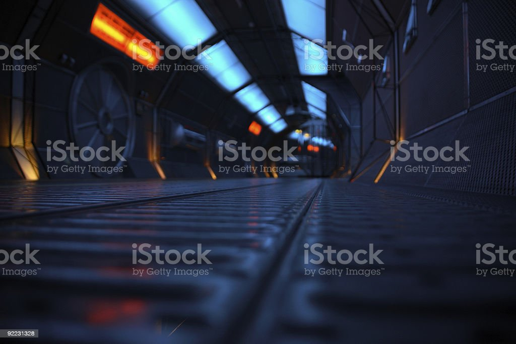 Space Station Background stock photo