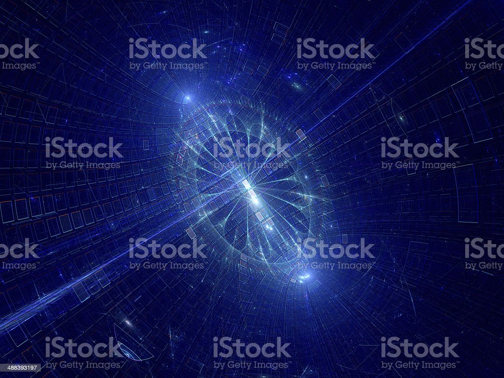 Space technology royalty-free stock photo