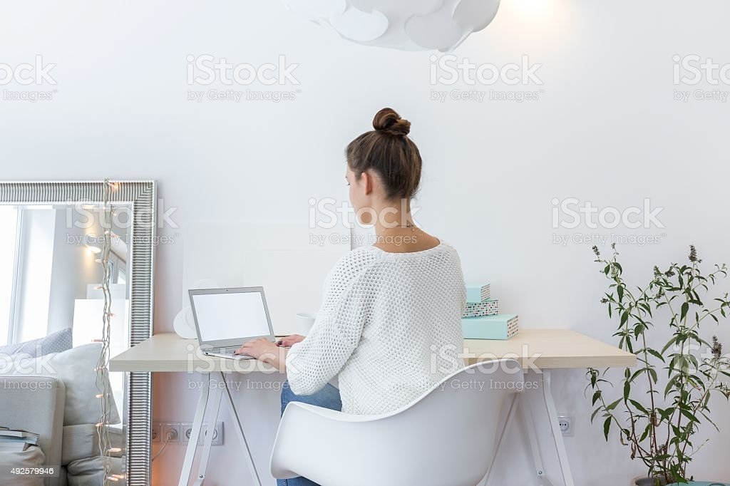 Space to work stock photo