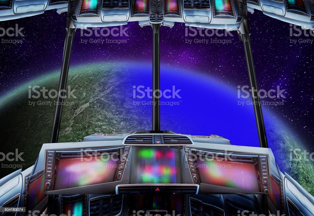 Space tours. stock photo