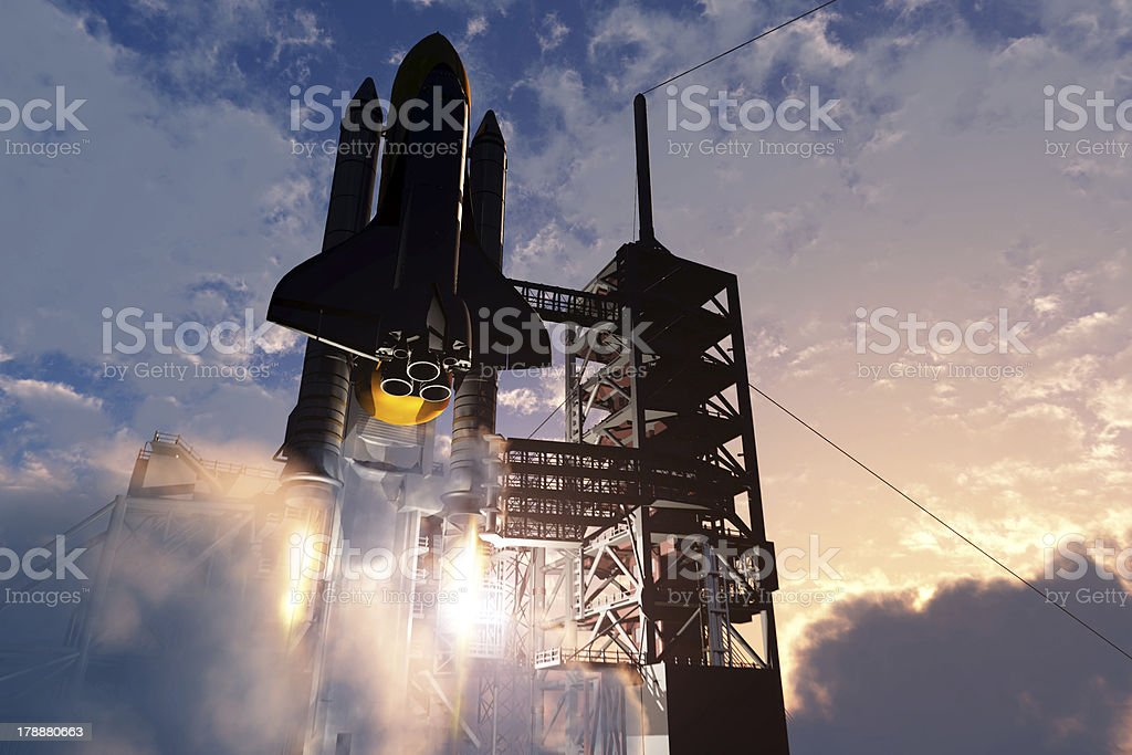 Space transport stock photo