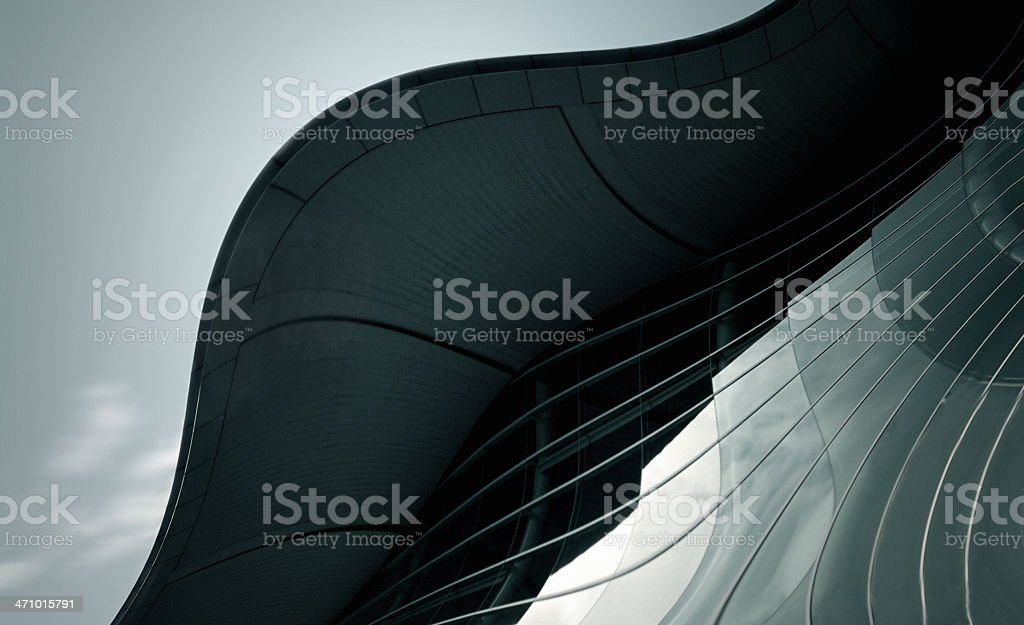 Spaceage Structure 3 royalty-free stock photo
