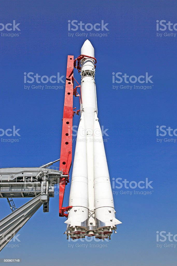 spaceship Vostok stock photo