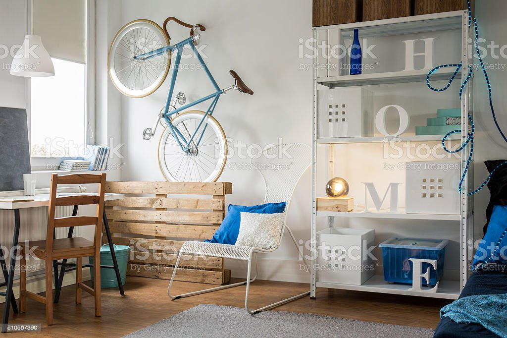 Spacious and light stock photo