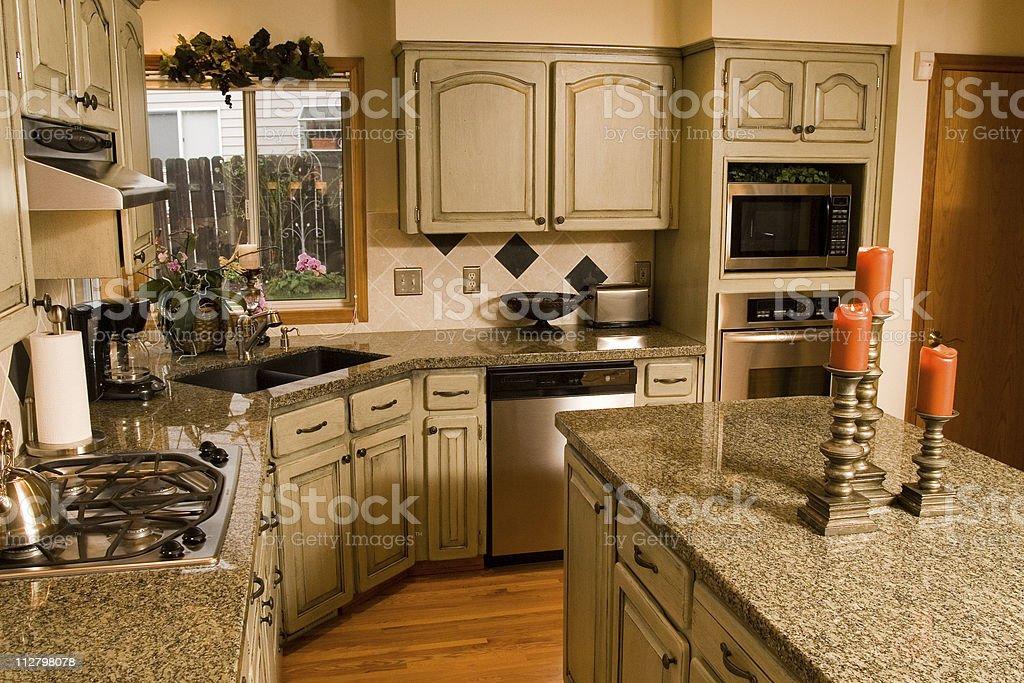 Spacious Kitchen - 5 stock photo