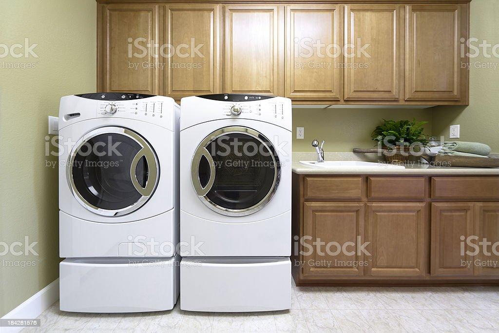 Spacious Laundry Room royalty-free stock photo