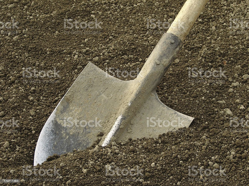 spade royalty-free stock photo
