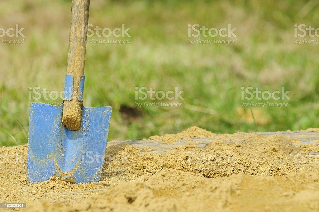 Spade stock photo