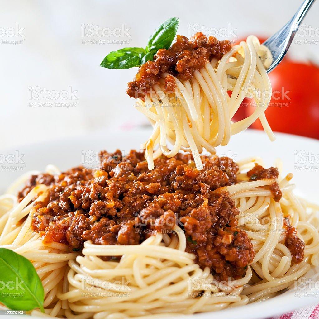 Spagetti stock photo