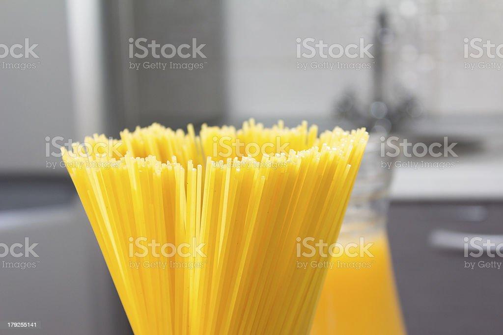 Spagetti royalty-free stock photo