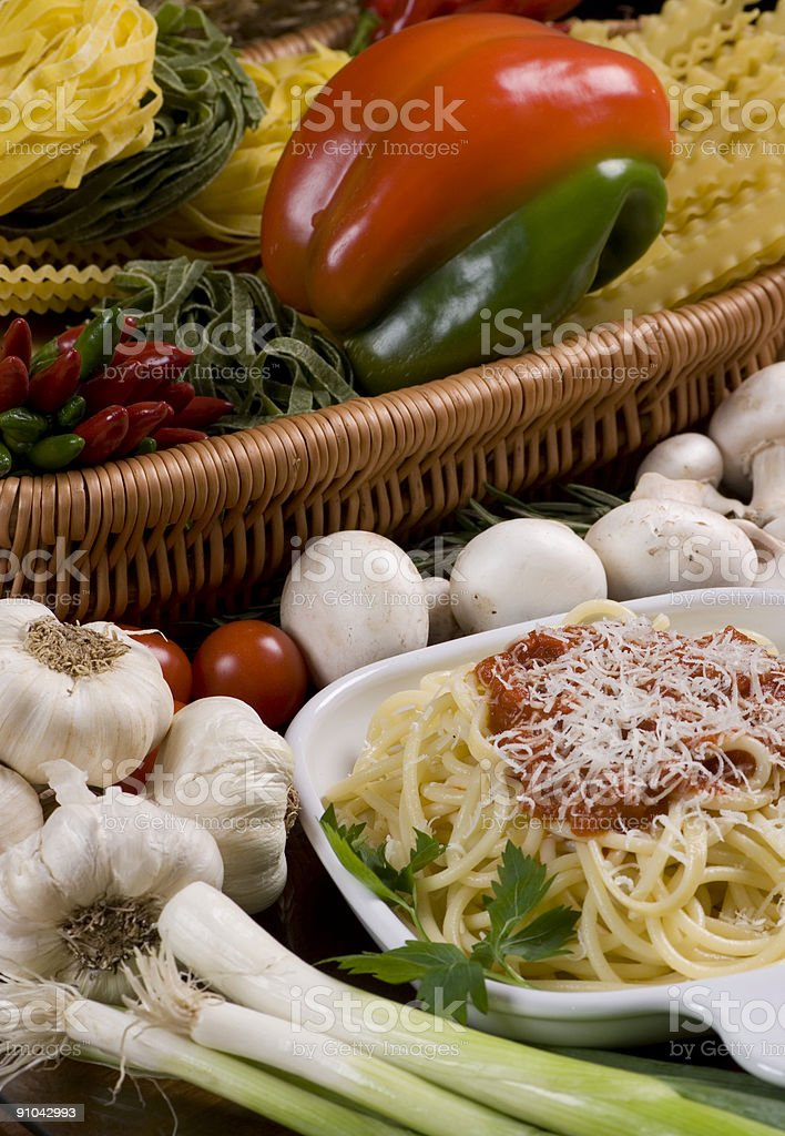 Spaghetti 1 royalty-free stock photo