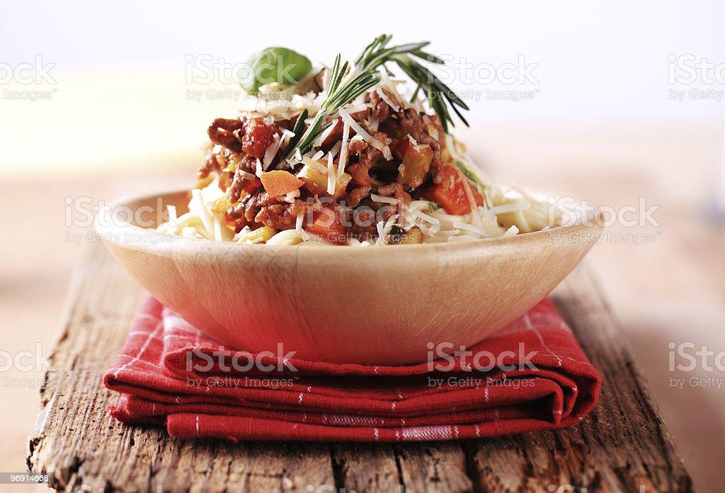 Спагетти болоньезе alla Стоковые фото Стоковая фотография