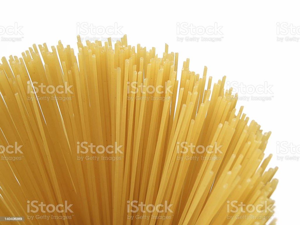 Spaghetti arc royalty-free stock photo