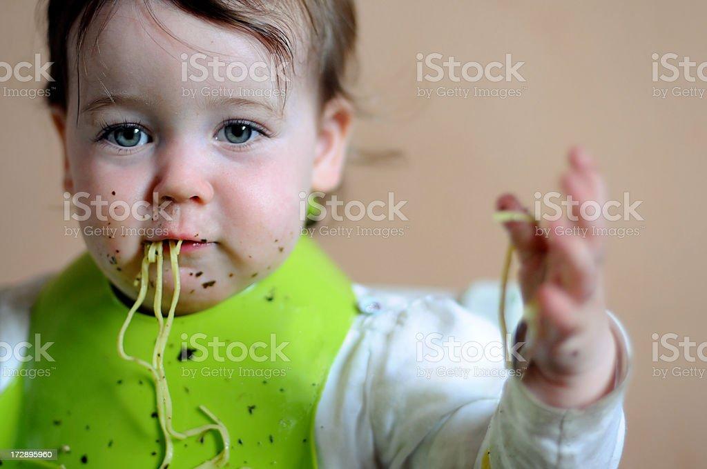 Spaghetti dinner 2 royalty-free stock photo