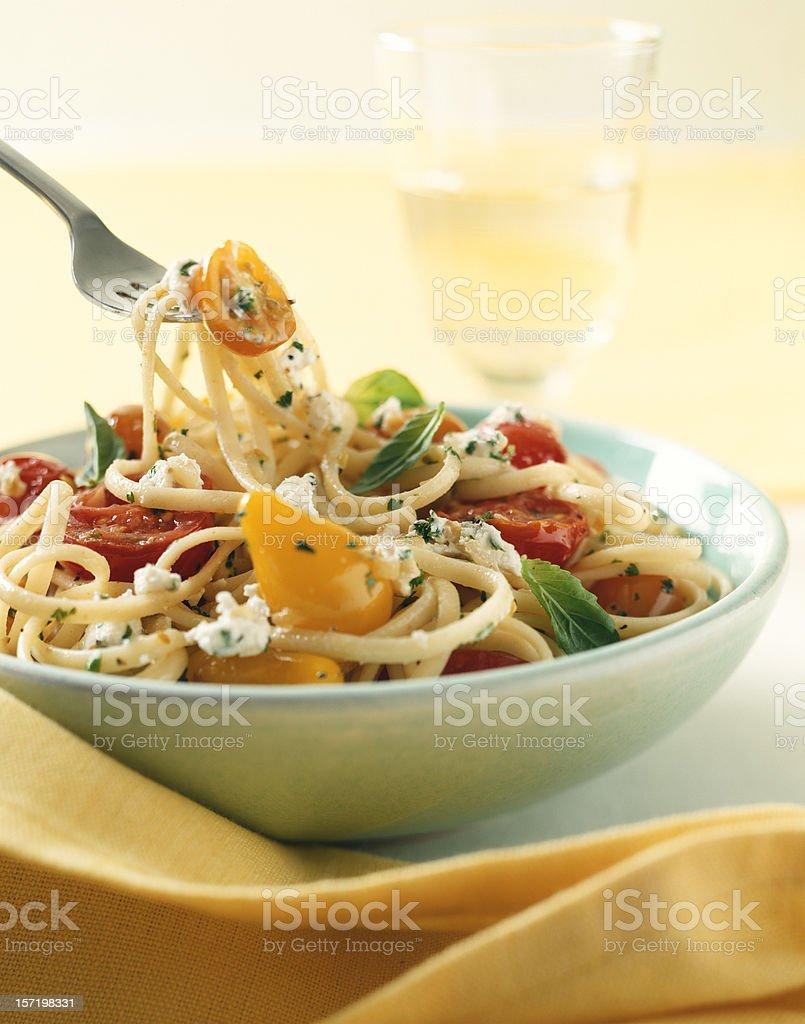 Spaghetti Italian food royalty-free stock photo